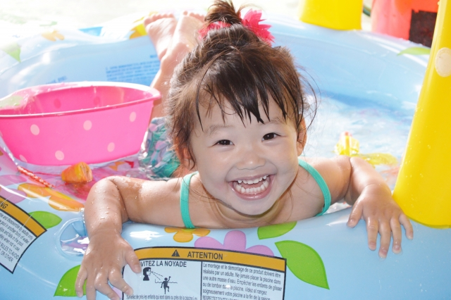 赤ちゃんの水遊び注意点