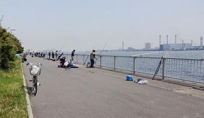 ふれーゆ裏の釣り家族連れにおすすめのポイント