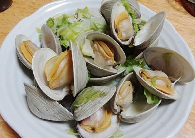 ホンビノス貝の酒蒸しレシピ