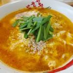 ニュータンタンメンのスープレシピで唐辛子も自作で調節簡単な作り方