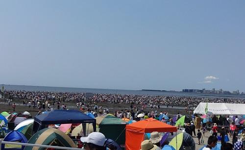 ふなばし海浜公園潮干狩り場の混雑状態と駐車場