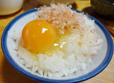 冷凍玉子のタマゴかけご飯