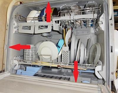 食洗機のパッキン掃除方法