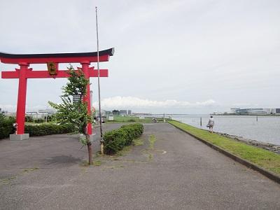 旧穴守稲荷神社大鳥居潮干狩りポイント