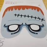ハロウィンの手作りお面の無料ダウンロード、かぶりものの型紙も