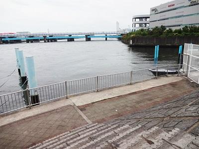 鶴見川河口でハゼ釣りが出来る場所