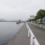 横浜根岸港の釣り場の駐車場とトイレと近くの釣具屋や餌の入手先