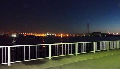 ふれーゆから見るみなとみらいの夜景