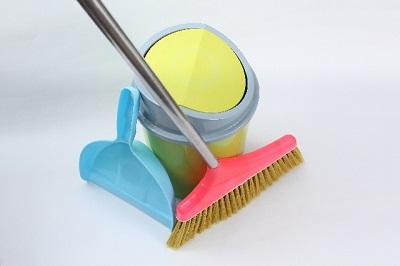 年末大掃除の計画の方法