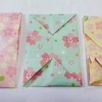 ポチ袋を手作り 折り紙で簡単なものとお年玉袋に鶴の袋の折り方