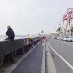 横浜磯子電源開発前護岸の釣り場の状況とトイレや駐車場料金と磯子海釣り施設