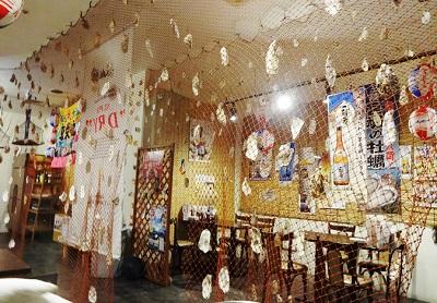 新横浜牡蠣小屋店内の雰囲気