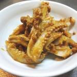 イカのわた焼きレシピ、わたの取り方とゲソやエンペラのわた味噌炒め