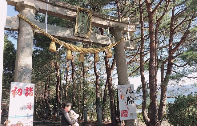 福井県敦賀市の常宮神宮初詣